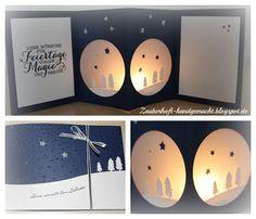 CHRISTMAS POP UPS. Windlichtkarte - Adventskalender für jedermann