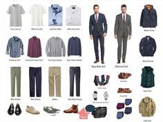 Closet Masculino Minimalista Ideas For 2019 Capsule Wardrobe Men, Mens Wardrobe Essentials, Diy Moda, Italian Mens Fashion, Business Casual Outfits, Men Dress, Men Casual, Menswear, Fashion Tips