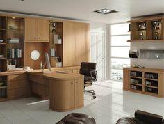 natural oak home office furniture