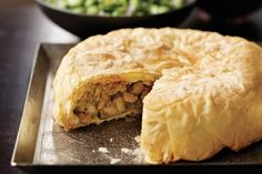Moroccan Filo Chicken & Almond Pie