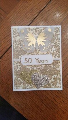 50th anniversary card SU