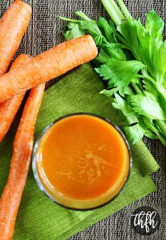 juice fast This healthy plant-based Homemade Carrot Apple and Celery Juice recipe is a quick and easy recipe made with fresh organic produce, is ready in just a few minutes, and best of all Juice Fast Recipes, Celery Recipes, Juicer Recipes, Raw Food Recipes, Brunch Recipes, Carrot Juice Recipes, Health Recipes, Yummy Recipes, Healthy Juices