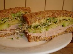 i could eat sandwiches every day - love them! This blog has a new concoction every week