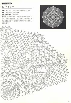 "Photo from album ""Suteki Pineapple Crochet Laces on Yandex. Free Crochet Doily Patterns, Crochet Doily Diagram, Crochet Chart, Thread Crochet, Crochet Doilies, Knit Crochet, Crochet Square Blanket, Crochet Squares, Crochet Table Runner"