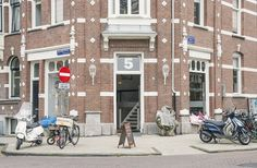 Multi-talented Amsterdam trio combine marketing agency with coffee shop and exhibition space... http://www.we-heart.com/2014/09/11/coffee-concepts-amsterdam/