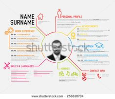 Infographic Version Of My Marketing Resume  My Social Resume