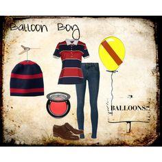 """Balloon Boy FNAF2"" by accillia on Polyvore"