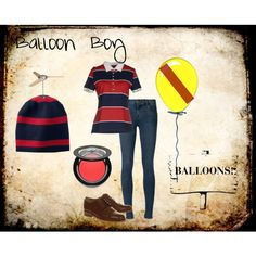 """Balloon Boy FNAF2"" by accillia on Polyvore"