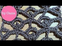 Crochet Rings summer top design , written instruction and video tutorial by © Oana O.Bonacorsi scroll down for the English version. Crochet Stitches Free, Crochet Chart, Crochet Doilies, Crochet Flowers, Crochet Poncho, Crochet Blanket Patterns, Stitch Patterns, Crochet Rings, Crochet Bracelet