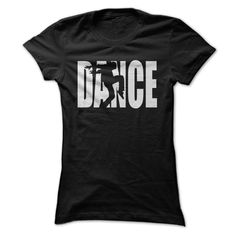 Dance Hip Hop Style Silhouette T Shirt - Black only - Dancing themed tops for women and men