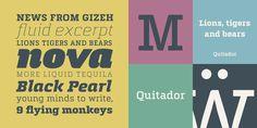 Quitador - Webfont & Desktop font « MyFonts