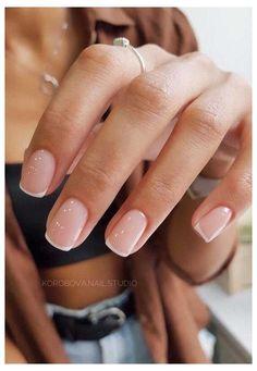 Classy & Natural Nail Design Ideas #simple #nail #designs #classy #natural #beautiful #simplenaildesignsclassynaturalbeautiful Cute Acrylic Nails, Cute Nails, Pretty Nails, Pretty Short Nails, Squoval Acrylic Nails, Short Square Acrylic Nails, Shellac Toes, Remove Shellac, Acrylic Toes