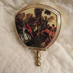 Vintage Miniature Compact Ashtray New Vintage Item by rarefinds4u