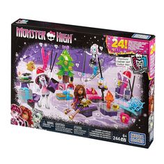 Check out the Monster High® Advent Calendar at the official Mattel Shop website. Explore the world of Monster High today! Advent For Kids, Advent Calendars For Kids, Kids Calendar, Christmas Countdown, Disney Countdown, Toys For Girls, Kids Toys, New Monster High Dolls, Advent
