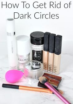 How To Get Rid of Dark Circles with Eye Creams & Color Correcting