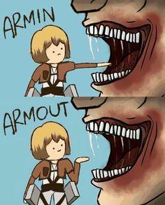 Snk Armin aPffffffffffffft!
