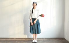 jeans shorts skirt summer new design loose pants by ideacloth, $56.00