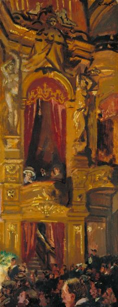 The New Bedford - Walter Richard Sickert (Munich, Germany, 1860 - 1942).