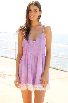 Lilac Clouds Playsuit