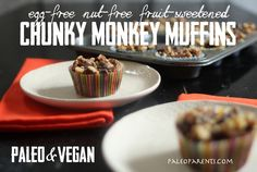 Chunky Monkey Muffins from Paleo Parents