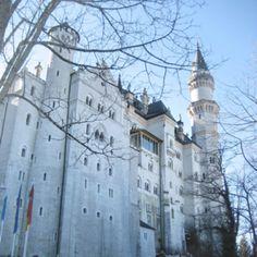 Fussen, Neuchweinstein.   The castle that inspired Walt Disney.