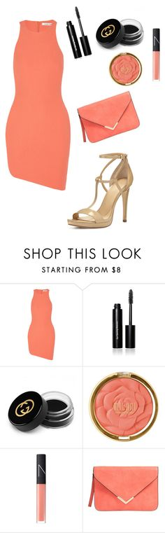 """Untitled #1143"" by vireheart ❤ liked on Polyvore featuring Elizabeth and James, Bobbi Brown Cosmetics, Gucci, Milani, NARS Cosmetics and MICHAEL Michael Kors"