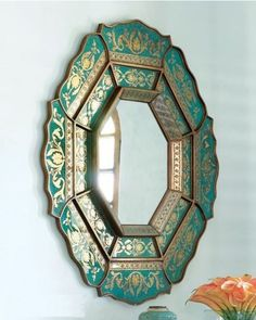 Morrocan-style mirror