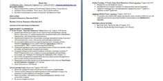 Student Teaching On Resume Cool My Teaching Resume In Prezi Form Check It Out   Resumes .
