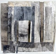 Lisa Grey - mixed media study I do like her work - Especially this one