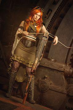 Steampunk princess by Philaeria.deviantart.com on @deviantART