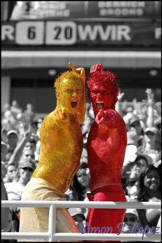 Garnet and Gold guys // #FSU    I applaud their enthusiasm =D!!!