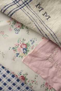 Antique Vintage French Fabrics for your cottage