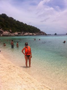 Day out snorkelling and taking in the view in Thailand