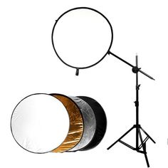 Kit Reflector 5 en 1 + Soporte Iluminación Fotografía Video - Lumen Colombia