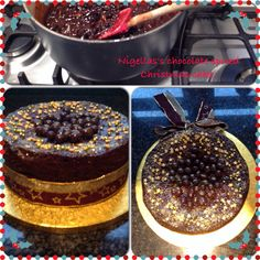 This Chocolate Spiced Christmas Cake of Nigella's is so simple to make, easy to decorate and looks fantastic. It tastes so delicious too.