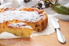 Torta di semolino e mele  #cake #apple #cucina #ricetta