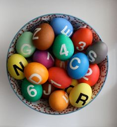 How-To: NYC Subway-Inspired Easter Eggs