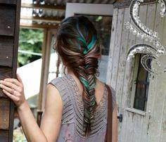 Multi-Colored Fishtail Braid
