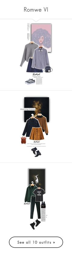 """Romwe VI"" by juhh ❤ liked on Polyvore featuring romwe, Juliajulian, fashiontrend and Holga"