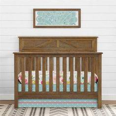 Baltimore Convertible Crib By Harriet Bee Panel Headboard, Headboard And Footboard, Headboards For Beds, Wooden Baby Crib, Best Crib, Nursery Furniture, Nursery Crib, Nursery Rugs, Plywood Furniture