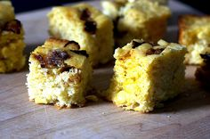Shut. the. front. door.  All my favorite things in one.  Caramelized onion and goat cheese cornbread.