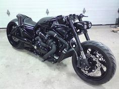 2007 Harley Davidson Night Rod Beastcycles Style - check out that turbo charger!