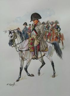 SOLDIERS- Courcelle: Napoleon, June 1815, by Patrice Courcelle.