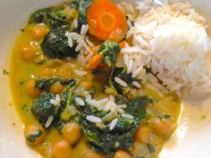 """Patchwork und Kochen: Das schmeckt auch """"Nicht-Veganern"""" .....Kichererbsen-Curry"""