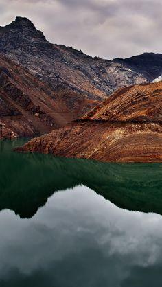 Green Lake iPhone Wallpapers