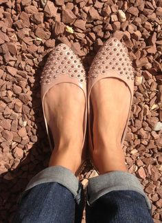 Love my studded Vince Camuto flats!!!