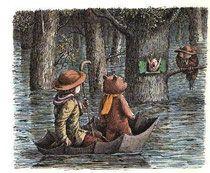 "Boris Diodorov ""Winnie the Pooh. Frozen In Time, Kids Story Books, Pooh Bear, Children's Book Illustration, Bedtime Stories, Winnie The Pooh, Childrens Books, Illustrators, Russian Folk"