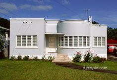 Decopix - The Art Deco Architecture Site - Art Deco Houses & Apartments Gallery