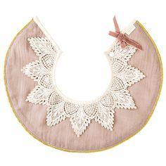 まあるいよだれかけ MARLMARL(マールマール) / dolce 1 lace collar