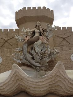 Corpus Christi - this sandcastle is awesome to see!